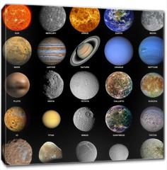 Obraz na płótnie canvas - The solar system