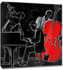 Obraz na płótnie canvas - Jazz band
