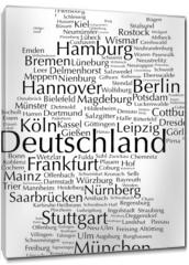 Obraz na płótnie canvas - Deutschland