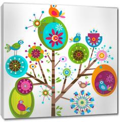 Obraz na płótnie canvas - whimsy tree