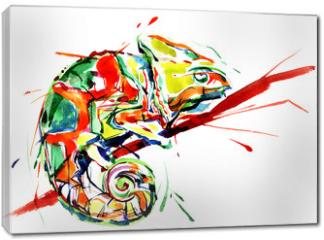 Obraz na płótnie canvas - chameleon