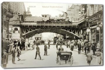 Obraz na płótnie canvas - Friedrichstrasse Postcard