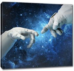 Obraz na płótnie canvas - New technologies in space. Concept