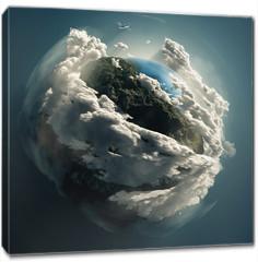 Obraz na płótnie canvas - mother earth