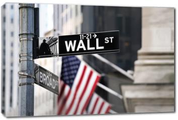 Obraz na płótnie canvas - Wall street