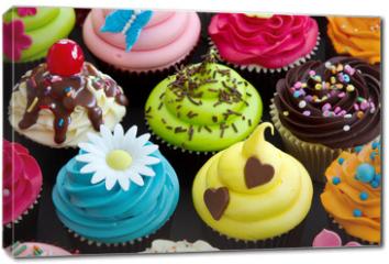 Obraz na płótnie canvas - Cupcakes