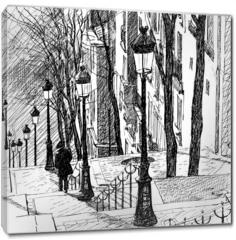 Obraz na płótnie canvas - Montmartre in Paris