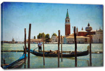 Obraz na płótnie canvas - Venice, View of San Giorgio maggiore from San Marco