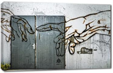 Obraz na płótnie canvas - Eingang