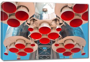 Obraz na płótnie canvas - Space rocket engine