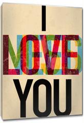 Obraz na płótnie canvas - Valentine's Day type text calligraphic