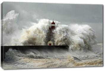 Obraz na płótnie canvas - Windy Coast