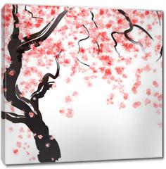 Obraz na płótnie canvas - Cherry tree blossom