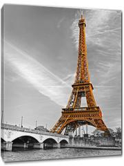 Obraz na płótnie canvas - Eiffel tower, Paris.