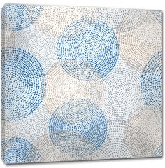 Obraz na płótnie canvas - abstract seamless pattern