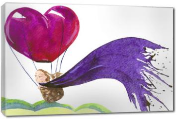 Obraz na płótnie canvas - balloon flight