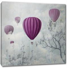 Obraz na płótnie canvas - Pink Balloons