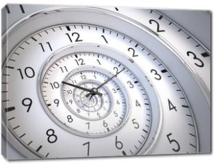 Obraz na płótnie canvas - Infinity Time Spiral