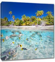 Obraz na płótnie canvas - Tropical island