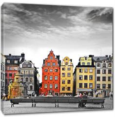 Obraz na płótnie canvas - Stockholm, heart of old town,