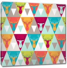Obraz na płótnie canvas - Hipster style seamless pattern.