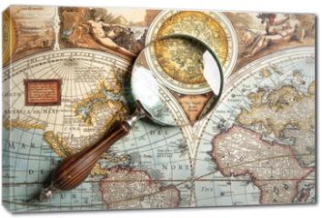 Obraz na płótnie canvas - Magnifying glass