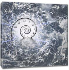 Obraz na płótnie canvas - Time and Quantum Physics