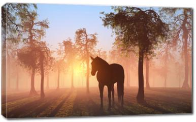 Obraz na płótnie canvas - Horse.