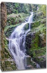 Obraz na płótnie canvas - Wodospad Kamieńczyk Szklarska Poręba