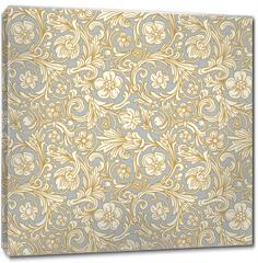 Obraz na płótnie canvas - Vintage classic ornamental seamless vector pattern