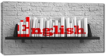 Obraz na płótnie canvas - English. Education Concept.