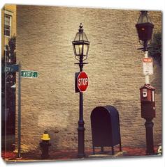 Obraz na płótnie canvas - New england in Boston City