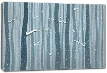 Obraz na płótnie canvas - Winterwlad