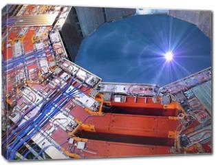 Obraz na płótnie canvas - CERN LHC