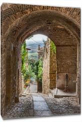 Obraz na płótnie canvas - antique Italian alley