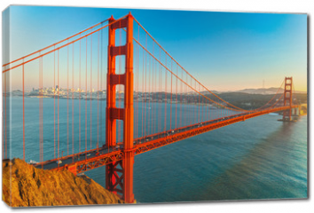 Obraz na płótnie canvas - Golden Gate, San Francisco, California, USA.