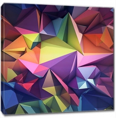 Obraz na płótnie canvas - Abstract geometric background
