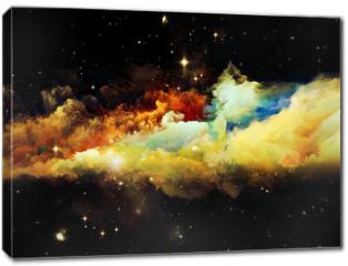 Obraz na płótnie canvas - Advance of Nebula