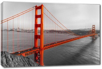 Obraz na płótnie canvas - Golden Gate, San Francisco, California, USA.