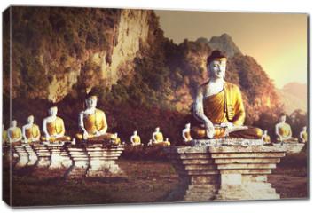 Obraz na płótnie canvas - Buddhas garden