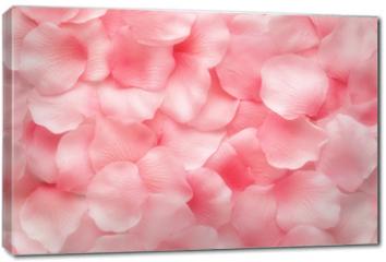 Obraz na płótnie canvas - Beautiful delicate pink rose petals