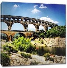 Obraz na płótnie canvas - pont du gard