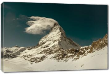 Obraz na płótnie canvas - Matterhorn peak, Zermatt, Switzerland
