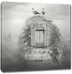 Obraz na płótnie canvas - Nordic fantasy landscape