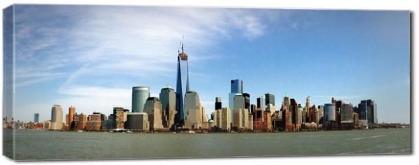 Obraz na płótnie canvas - Manhattan