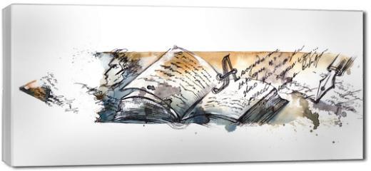 Obraz na płótnie canvas - literature