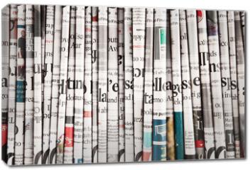 Obraz na płótnie canvas - collezione di quotidiani