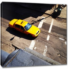 Obraz na płótnie canvas - Yellow Cab