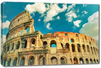 Obraz na płótnie canvas - Colosseum (Coliseum) in Rome