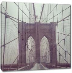 Obraz na płótnie canvas - Brooklynbridge, NYC, USA
